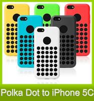 Wholesale Gel Case For Iphone5c - 5C TPU Case A+ Quality Official Style Colorful Soft Gel Rubber Skin Cover Cases For iPhone 5C iPhone5C 6 Colors DHL Free MOQ :100PCS