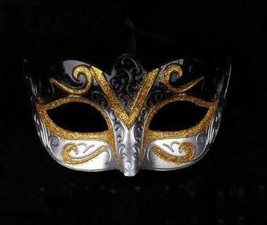 Großverkauf - Mischungsauftrag Förderung, die Partymaske schweißend Goldart und weisemaskerade venetianisches buntes verkauft