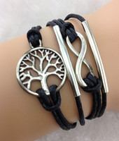 Wholesale One Direction Bracelets Cheap - Cheap price Handmade infinity bracelets in sliver bracelets,tree of life bracelets,karma bracelets,one direction bracelets Jewelry hy218
