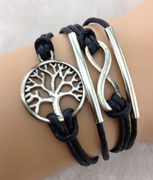 Wholesale Cheap One Direction Jewelry - Cheap price Handmade infinity bracelets in sliver bracelets,tree of life bracelets,karma bracelets,one direction bracelets Jewelry hy218