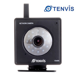 Wholesale Webcam Ip Network Mini Camera - Indoor Tenvis Mini 319W WIFI Wireless Wired IP Network Camera Pan Tilt CCTV Security Webcam Night Vision View by Computer Android Smartphone