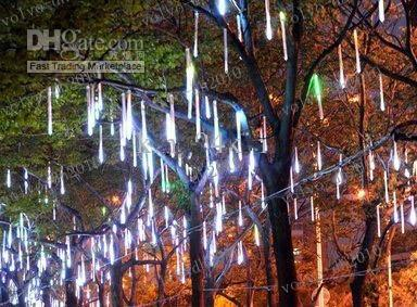 LLFA2645 36 LED lights 60cm Meteor Rain Light Christmas Ornament Light Fairy Wedding Flash LED Lights