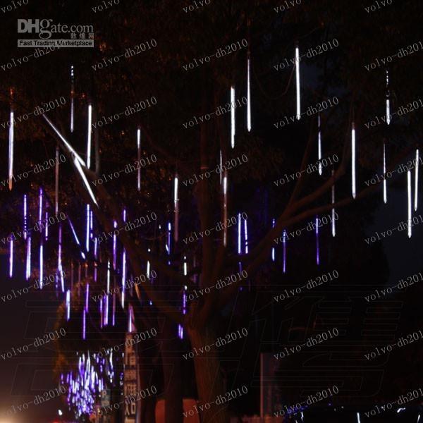 LLFA2645 36 LIGHTES LED 60 cm Meteore Lluvia Luz Navidad Ornamento Luz Flash Flash Luces LED