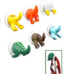 Crochet de queue animal mignon d'expédition, animal drôle porte-cuisine cuisine support 150pcs / lot