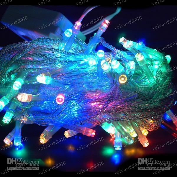 LLFA2647 Free shipping Led twinkle Christmas Light Strip 10m waterproof/wedding/decoration/banquet 100 bulbs 110V or 220V10m