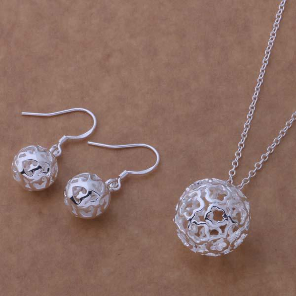 Mixed Fashion Jewelry Set 925 Collier en argent boucles d'oreilles pour les femmes à envoyer sa petite amie / femme cadeaux livraison gratuite /