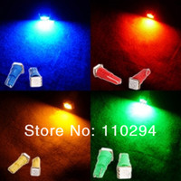 Wholesale Auto Indicator Led Bulb - Hotsale 50pcs T5 5050 1SMD 1 LED Auto Bulbs Car Indicator Light Wedge Lamp