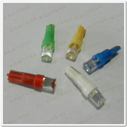 $enCountryForm.capitalKeyWord Canada - Promotion 50pcs T5 1SMD 1 Led Bulb with wedge base for dashboards Gauge bulbs Car Indicator Light