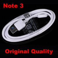 Wholesale Note3 OEM original Micro Connector USB Charger Data Cable Cord For Samsung Note N9000