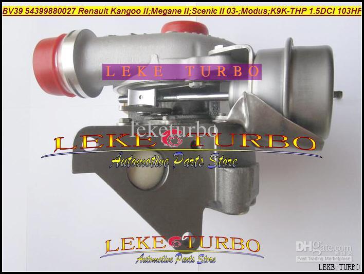 NEW TURBO Cartridge/CHRA 54399880027 54399700027 Turbocharger For Renault Kangoo II;Megane II;Scenic II 2003-;Modus 1.5L DCI 103HP K9K-THP