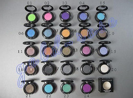 Wholesale Eyes Pigments - HOT makeup 1.5g Eyeshadow Single Eye shadow pigment with 24 colors +FREE GIFT
