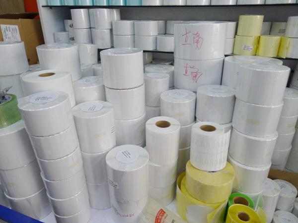 30 * 15mm * 10000 unids Transferencia Térmica en blanco etiquetas de código de barras, etiqueta adhesiva impresa adhesiva de papel de arte, envío gratis