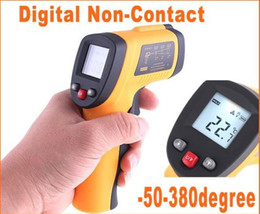 Wholesale Infrared Ir Laser - LCD Non-Contact Infrared Digital IR Laser Thermometer Probe Temperature Sensor