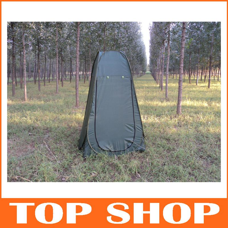 Outdoor Camping Shelter Change Dress Outdoor Single Toilet Single - Camping bathroom tent