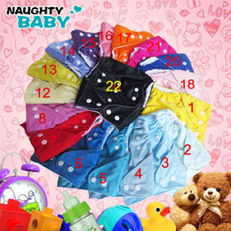 $enCountryForm.capitalKeyWord Canada - Free Shipping Naughtybaby Breathable Fabric Single Row snapCloth Diapers Without Insert 200 pcs One Pocket Diaper Covers