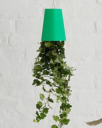 Wholesale Wholesale Plastic Hanging Flower Pots - New Arrive Fashion Hot Sky Planter Upside-Down Plant Pot Party supplies