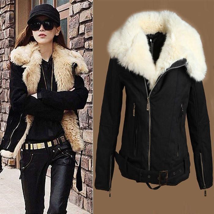 manteau d 39 hiver pour femme tres chaud. Black Bedroom Furniture Sets. Home Design Ideas