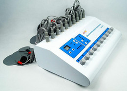 Wholesale Ems Stimulator - Christmas promotion EMS Skin Tighten Body Electric Muscle Stimulator for Slimming For Salon and Personal use with CE approval Au-800S