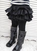 Wholesale Wool Baby Dress - Wholesale - cute girl winter wool fluffy cake skirt, black bow skirt girl baby girl dress black