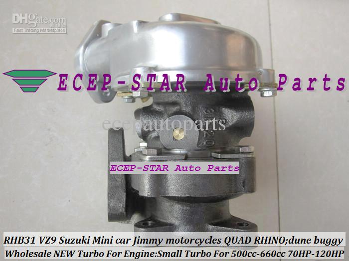 RHB31 VZ9 Petit Turbo Pour Suzuki Jimny Mini Cars 500-660cc Engine; Moto Suzuki; Moto Quad Dune Dune Buggy Modifier 70HP-120HP