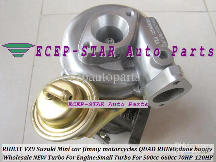 Suzuki Jimny Mini Cars 500-660CC 엔진 용 RHB31 VZ9 Small Turbo; 스즈키 오토바이; 오토바이 쿼드 코뿔소 듄 버기 수정 70HP-120HP 수정