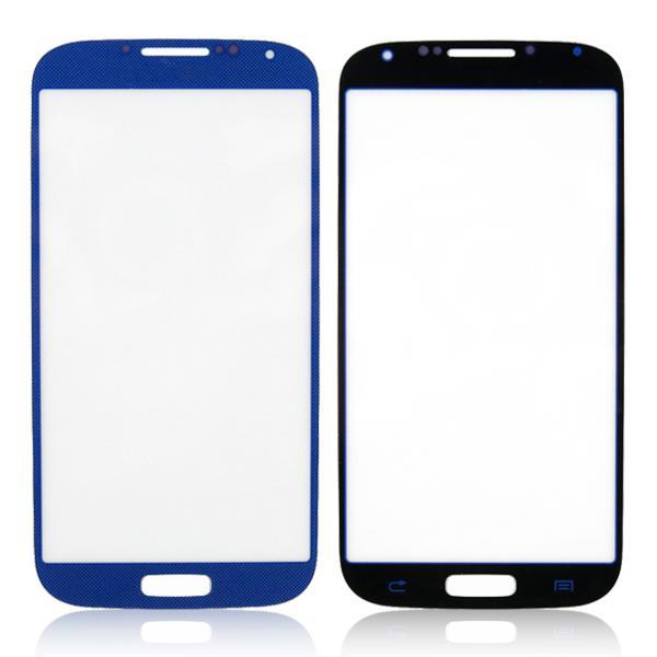 ل غالاكسي s4 شاشة الخارجي زجاج عدسة زجاج محول الأرقام غطاء الشاشة لسامسونج غالاكسي s4 الرابع i9500 i9505 i337 حار بيع