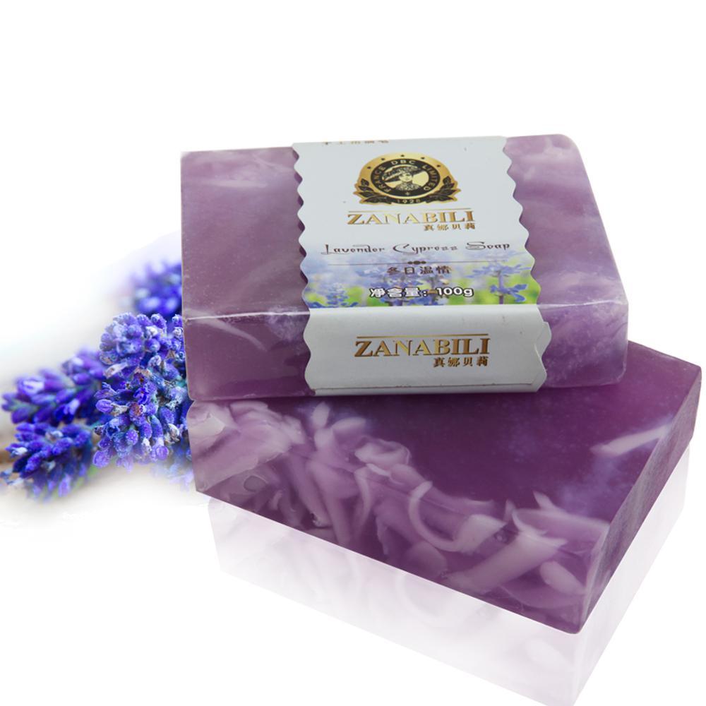 Natural Lavender Soap Color