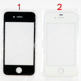 Wholesale Digitizer Iphone5 - Quality A For iPhone 4 4S Front Outer Glass Lens for iphone5 5s 5c Screen Digitizer Touch Panel Screen Cover For 6 6s and 6+ 6s plus