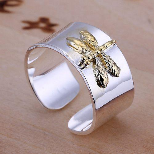 Mix order 10 pieces 925 silver Separations Dragonfly Ring,New arrival product,very fashion and popular 925 silver RING,DSSR-011