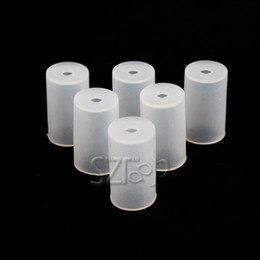 Wholesale Disposable Testing Caps - Test Drip Tip Cap Disposable Atomizer Cap Silicon Cover Dustproof Soft Mouthpiece Cap for CE4 CE5 MT3 VIVI NOVA atomizer via dhl