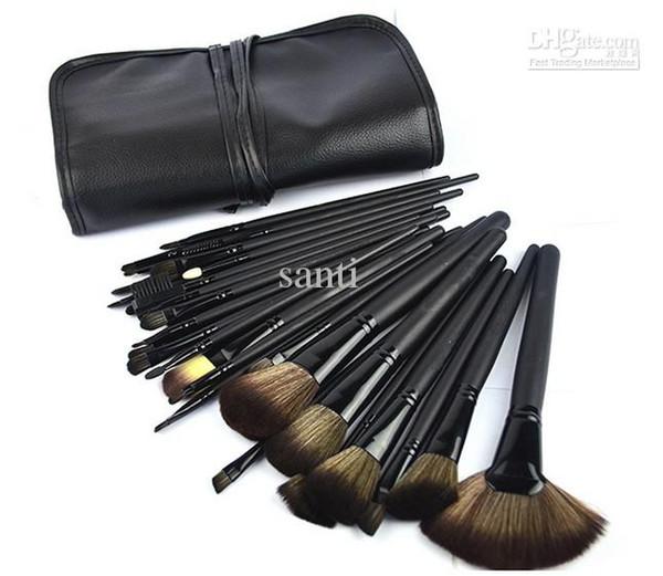 32Pcs Professional Make-up Make-up Kosmetik Pinsel Set Kit Tool Roll Up Case