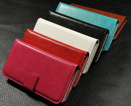 Wholesale Iphone5c Leather - New Luxury Wallet Case For iPhone 5 5c + Card Holder Stand Design Leather Case For iPhone5c Free Shipping