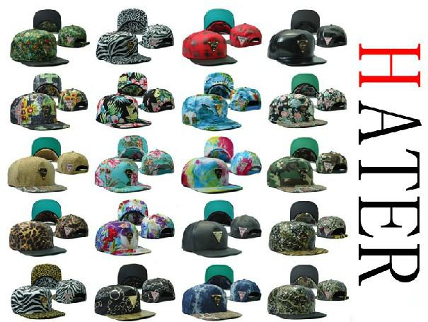 New Arrival Hater Snapback Hats Caps Men And Women Wholesale Snapbacks  Adjustable Custom Sport Team Snap Backs Top Quality Cool Hats Lids Hats  From ... 8b8eac4cfe7