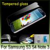 Good Quality Gorilla Premium Tempered Glass Transparent Screen Guard Film Anti-Scratch Protector For Samsung Galaxy S3 S4 NOTE 3 N9000