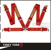 Wholesale Satefy Seat Belt - Tansky - 2013 New Sabelt Racing Satefy Seat Belt FIA 2018 Homologation  width:3 inches 4Point TK-SAB04 Color : Red, Blue, Black