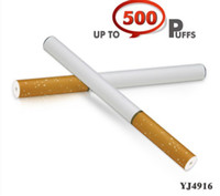 Wholesale E Cigarette Tar - Electronic Cigarette YJ4916 Disposable E Cigarette E Cig Single Up to 500 Puffs No Tar or Smoke Odors 240pcs lot
