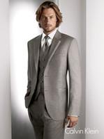 Wholesale Designers White Groom Wedding Suits - Custom made 2014 Designer Groom Tuxedos Wedding Groomsman Suit Groomsman Bridegroom Suits (Jacket+Pants+Tie+Vest) arab-60