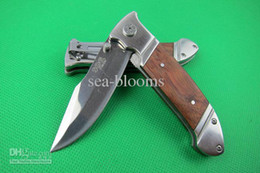Wholesale China Hunting Gear - Hot sale Made in China Sog A336 EDC pocket Folding blade knife outdoor gear Tactical knife hunting camping hiking knife knives For outdoor s