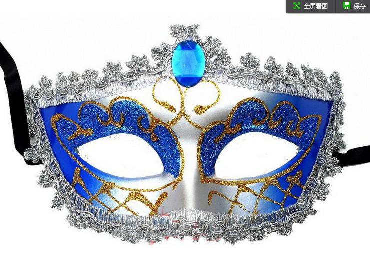 Wholesale - promotion selling party mask new wedding gift gold fashion Venetian masquerade party supply Hallween prop