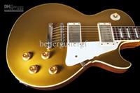 Wholesale Custom Historic - Wholesale - Custom shop High quality Electric Guitar 1957 CUSTOM SHOP 57 HISTORIC R7 VOS ~ GOLDTOP