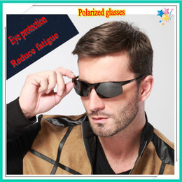 Wholesale Drive Plate - Set limit to sell!High-quality gifts sunglasses!brand sunglasses In blue film plating driver glasses,UV400CE mens sunglasses men