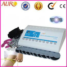 Máquina de la estimulación del electro del músculo del ccsme de la promoción de la Navidad para el hogar que adelgaza uso de la pérdida de peso con la aprobación del CE Au-800S desde fabricantes
