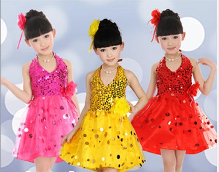 Großhandel Baby Mädchen Dancewear Baby Mädchen Tanzen Kleider ...