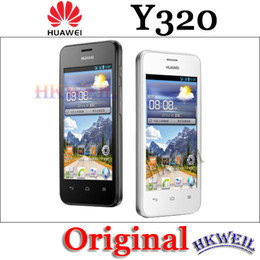 Wholesale Huawei 3g Phone - Refurbished Original Huawei Y320 Android Cell Phone MTK6572 Dual Core With 4.0Inch Screen 2.0MP Camera 3G WCDMA Phones
