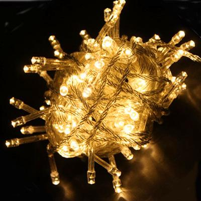 Hot LED String Light 10 Meters 100 LEDs Flessibile Striscia di luce la Festa di Nozze Finestra Tenda di Luci di Natale Luci di Natale