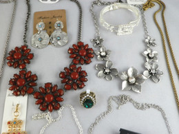 Wholesale Wholesale Chunky Fashion Jewelry - Europen Style Fashion Vintage Punk Jewelry Pendants & Necklaces Mix Chunky Statement chain Long Necklace Sold By Weight 500g lot ST2