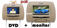 Wholesale Games For Headrest - Wholesale - car dvd for headrest DVD+monitor ,7 inch HD screen with DVD USB SD FM IR GAME