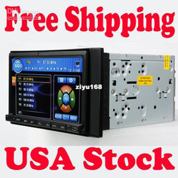 """Wholesale Double Din Car Radio Rds - Wholesale - USA Local Shipping 7"""" Touch Screen In Dash Double 2 Din Car Stereo DVD Player Radio usb sd FM RDS St"""