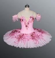 vestido spandex rosa quente venda por atacado-Venda quente !! adulto Ballet Tutu, bailarina vestidos TUTU, rosa profissional Ballet Tutu, meninas clássico Ballet Tutu, Tutu vestidos saia BT8979