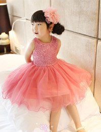 Wholesale Kids Ballet Dress Pink - Wholesale - Kids summer dress, older girls purple sequin tutu ballet dress 10p l